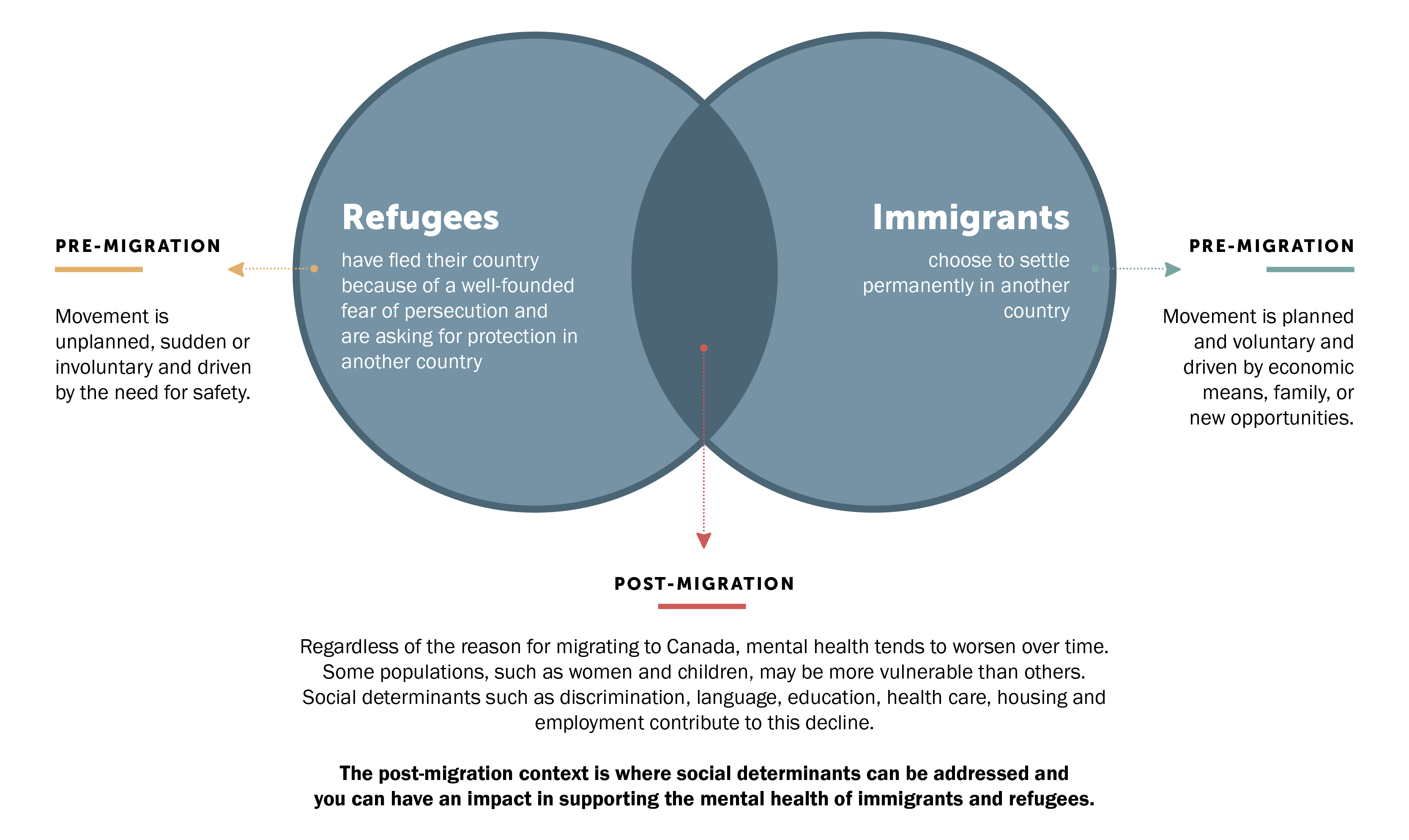 Refugees and immigrant populations